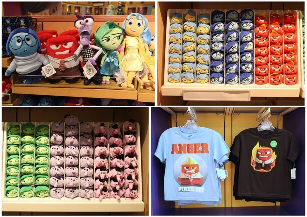 Inside Out Merchandise