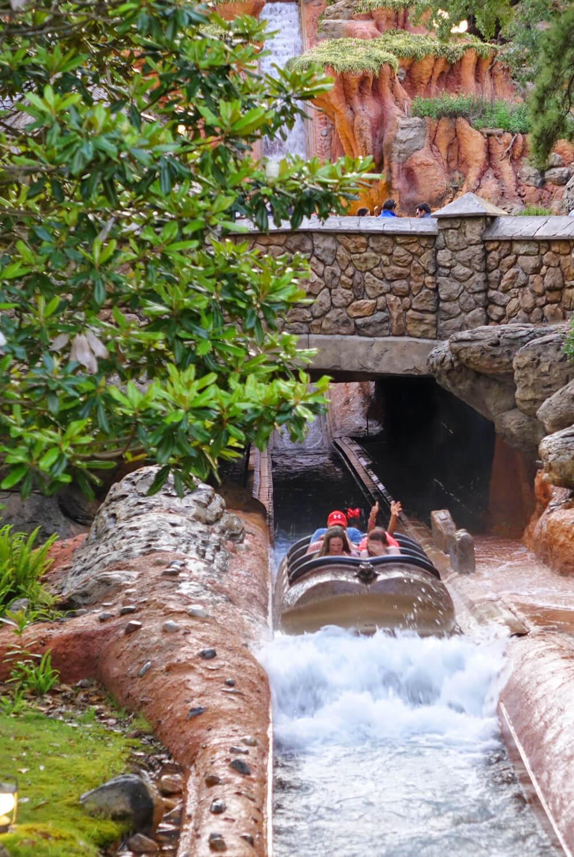 Cool down at Disney World - Splash Mountain