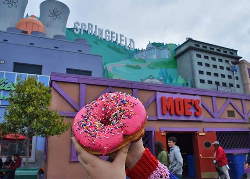 Universal Studios Hollywood Treats - Donut