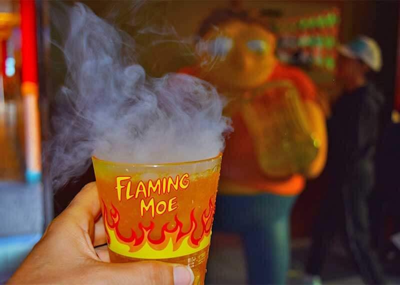 Universal Studios Hollywood Treats - Flaming Moe