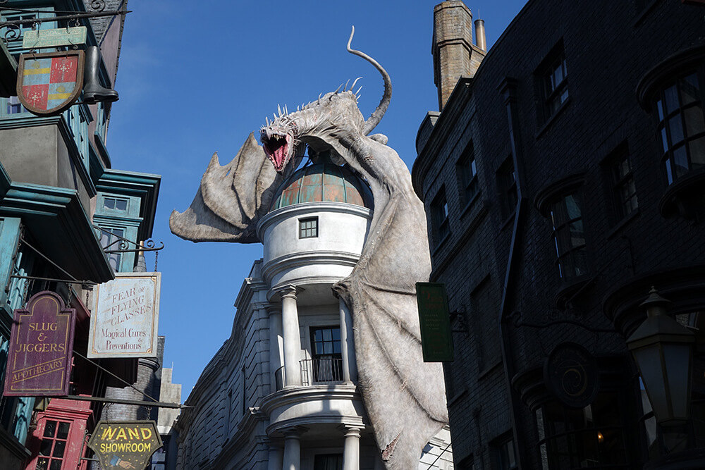 Orlando Thrill Rides - Harry Potter and the Escape from Gringotts