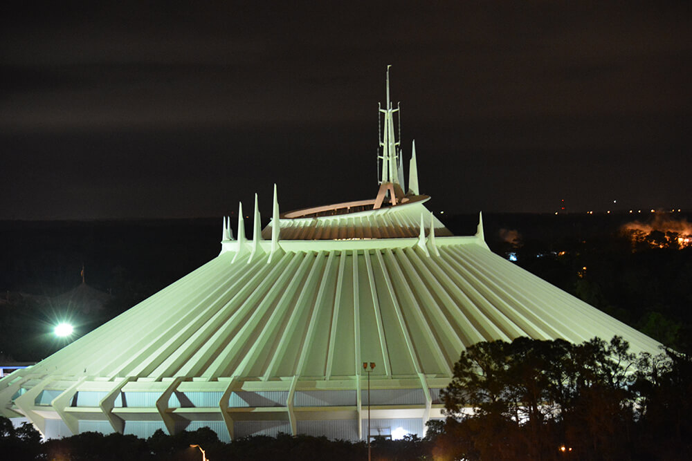 Orlando Thrill Rides - Space Mountain
