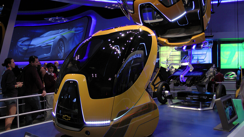 Orlando Thrill Rides - Test Track
