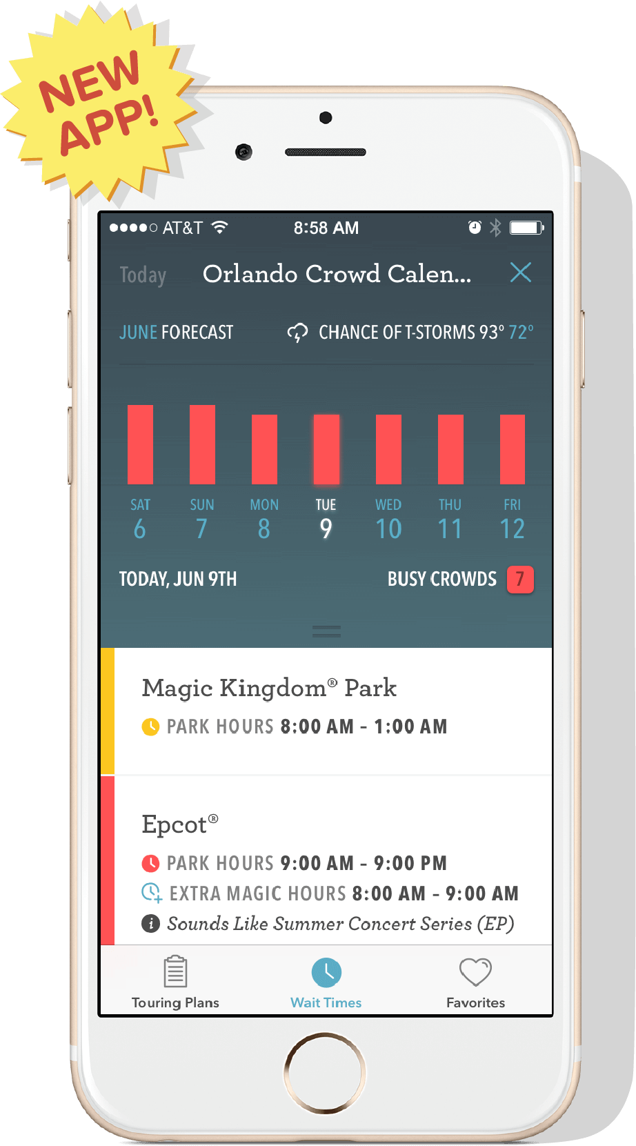 Share Undercover Tourist's Orlando Planning App & Win!