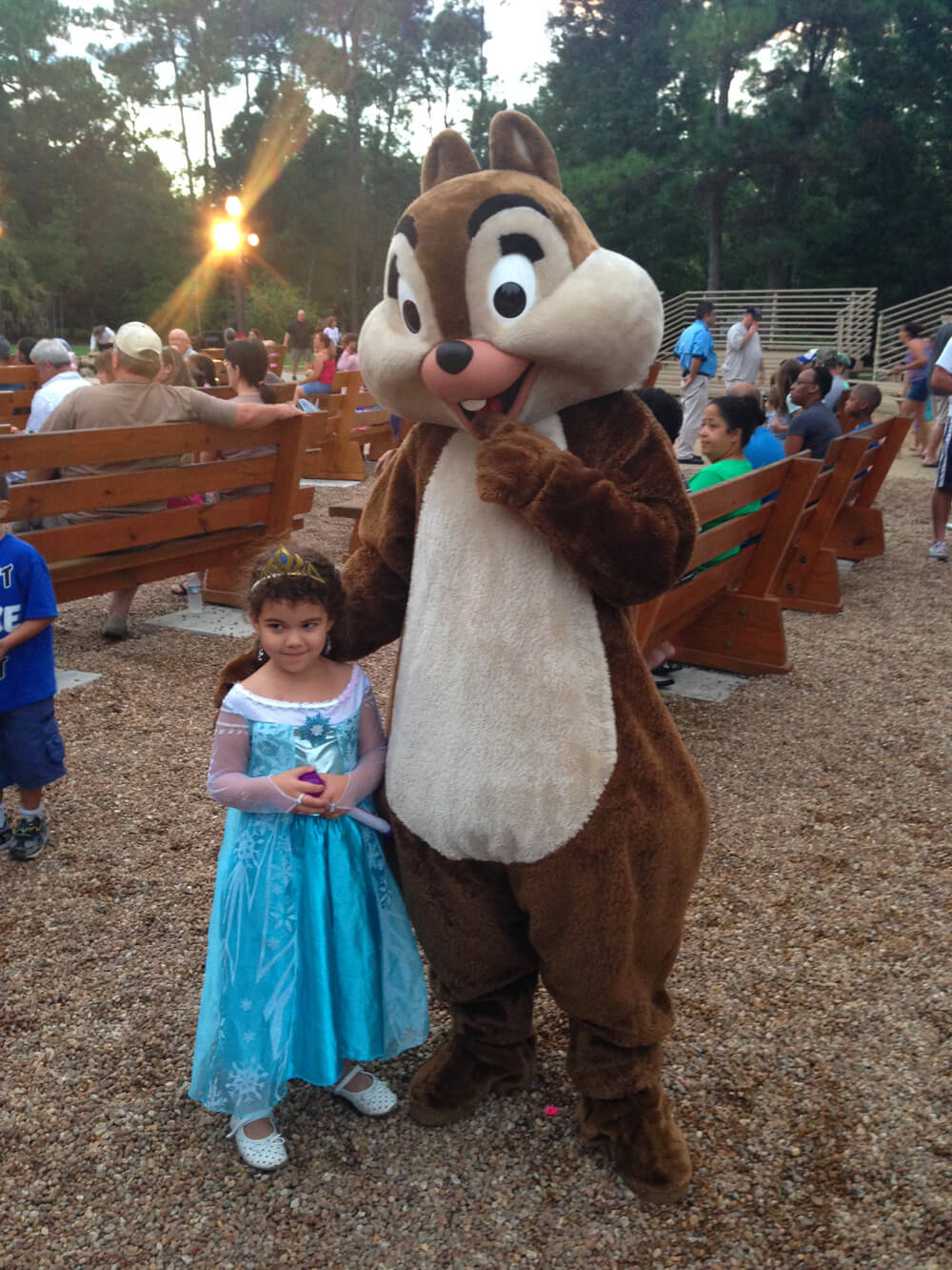 Smores at Disney World  - Chip and Dale's Campfire Sing-A-Long