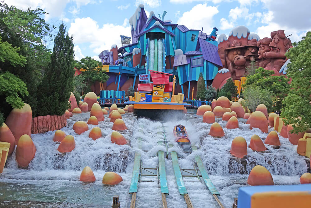 Universal Express Pass - Dudley Do-rRight's Ripsaw Falls