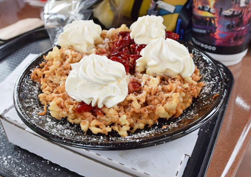 Universal Studios Hollywood Treats - Funnel Cake