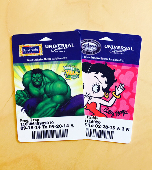 Universal Express Unlimited Passes - Hotel Key