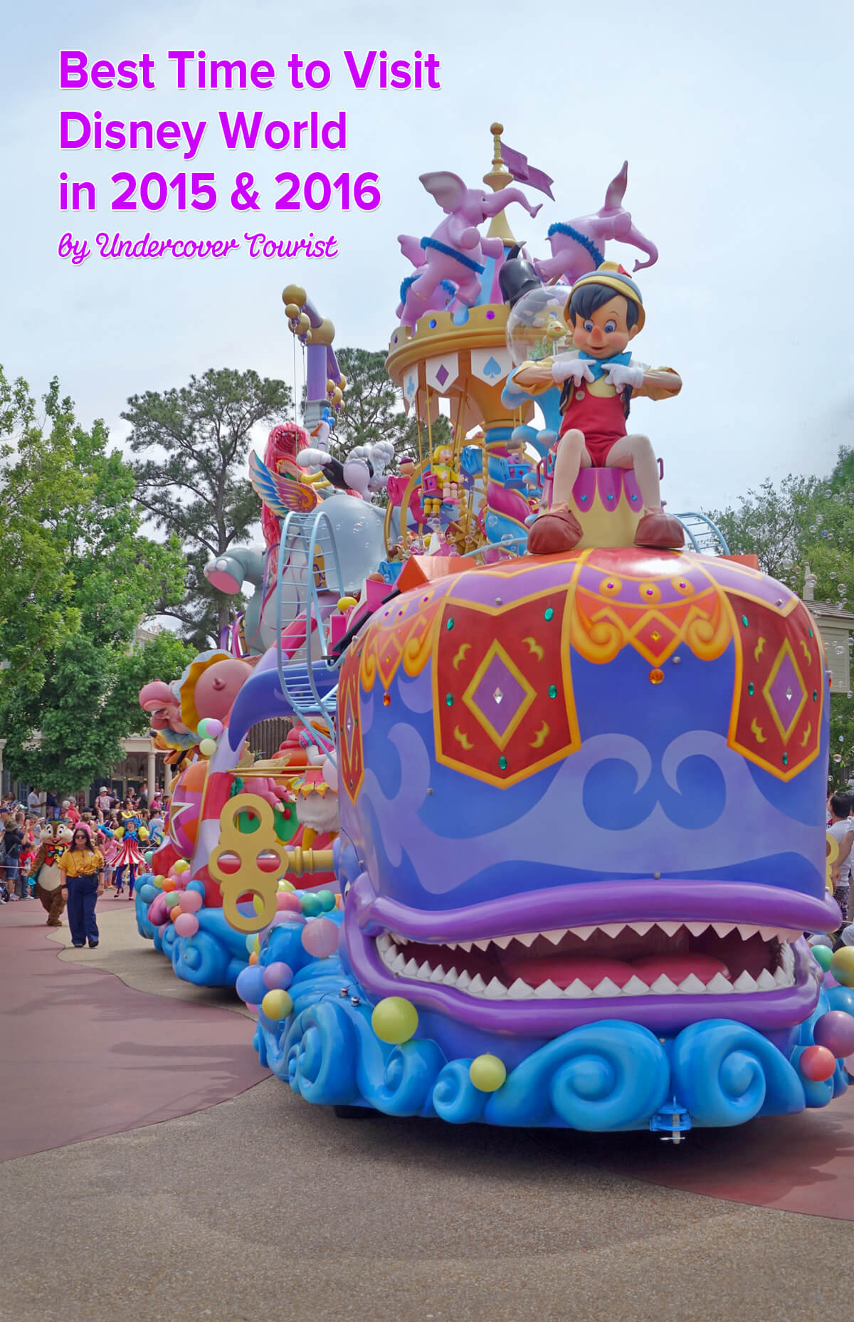 Best time to visit Disney World in 2015 & 2016