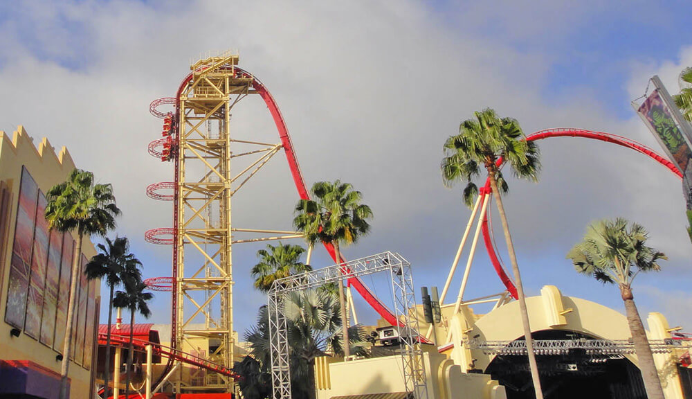 Top Orlando Thrill Rides - Hollywood Rip Ride Rockit