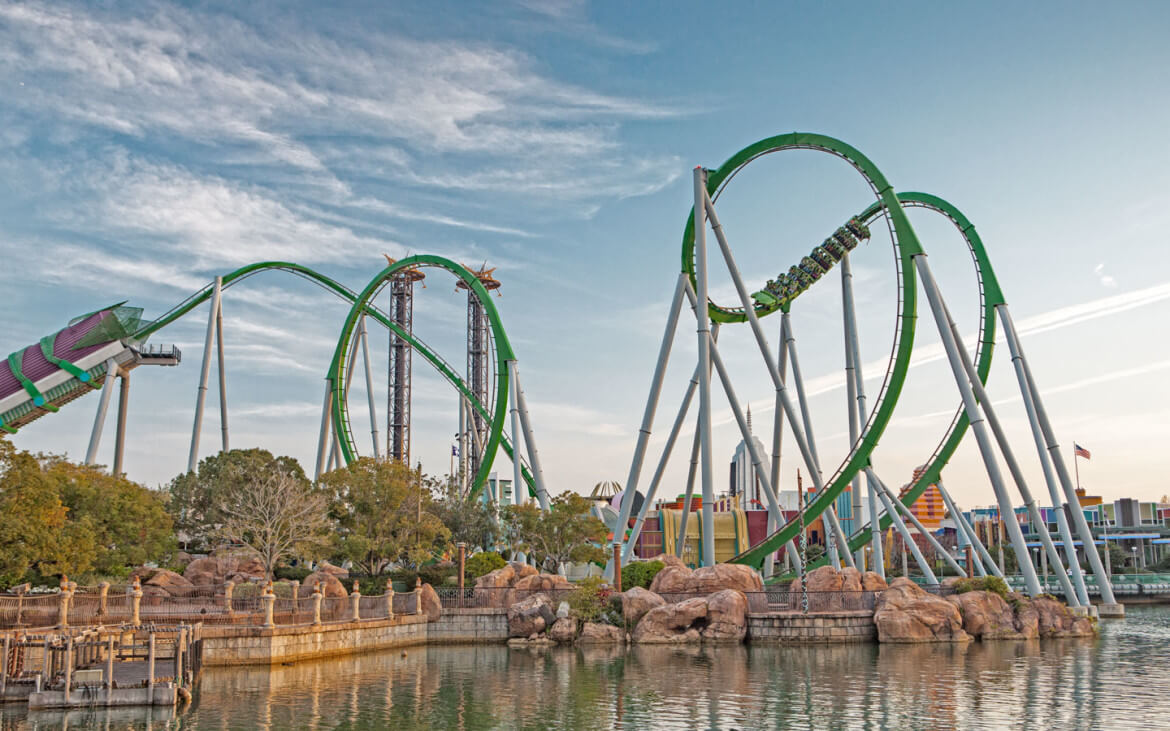 Universal's Incredible Hulk Coaster to Close for Lengthy Refurb