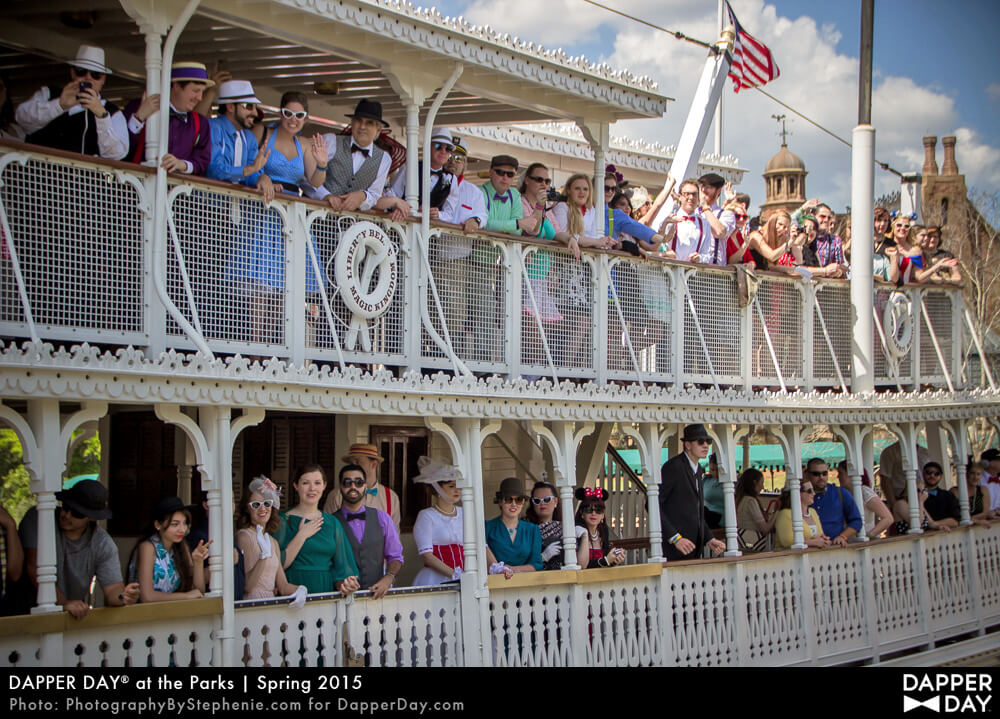 Dapper Day at the Parks, Spring 2015, Magic Kingdom, WDW Florida