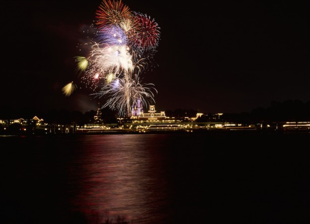 Romantic Things to Do at Disney World for Valentines (or any) Day - Fireworks over Cinderella Castle