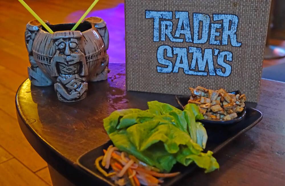 Trader Sam's Grog Grotto - Lettuce Wraps
