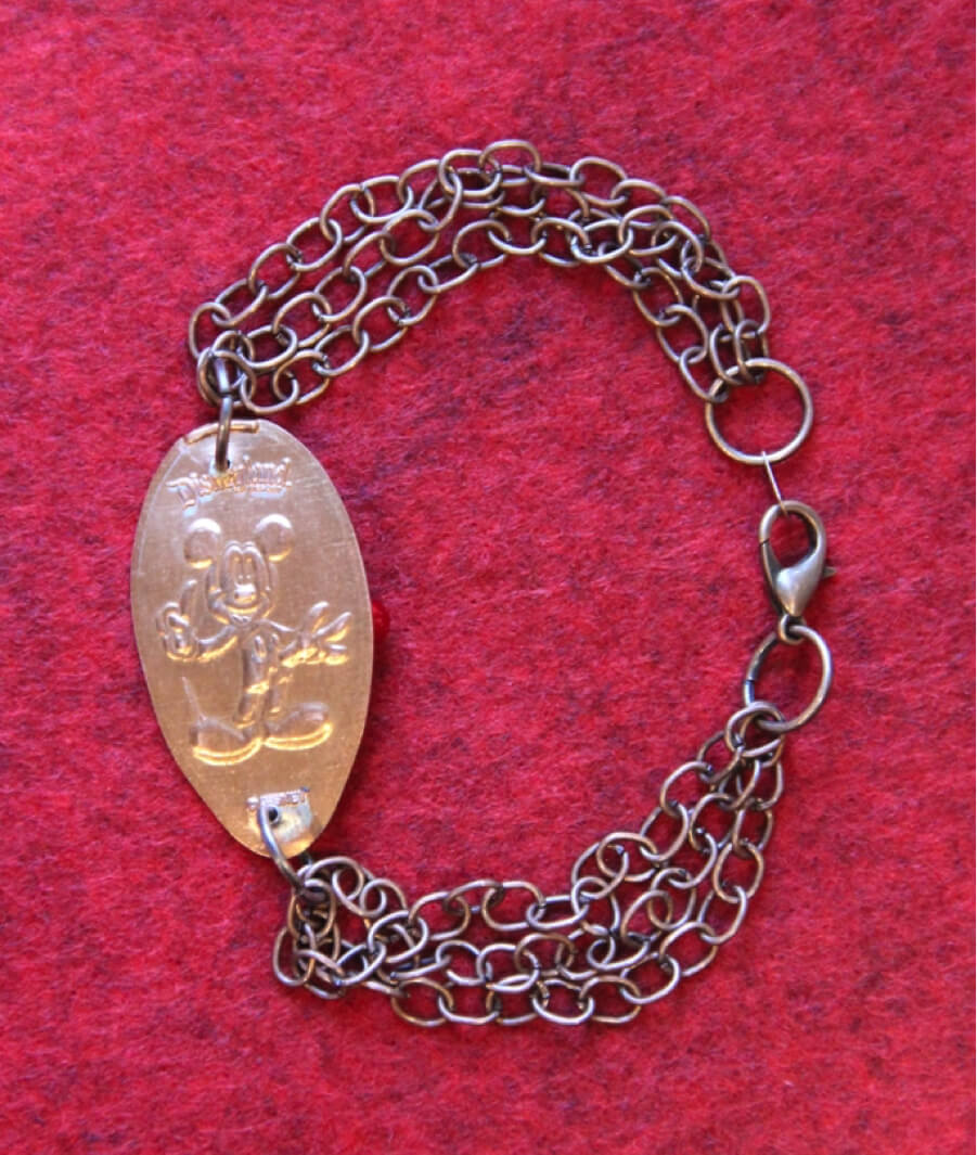 Make Your Own Disney Pressed Penny Bracelet