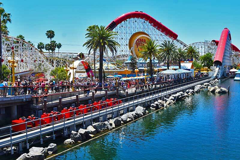 Disney California Adventure Best Thrills and Chills Teens - Incredicoaster