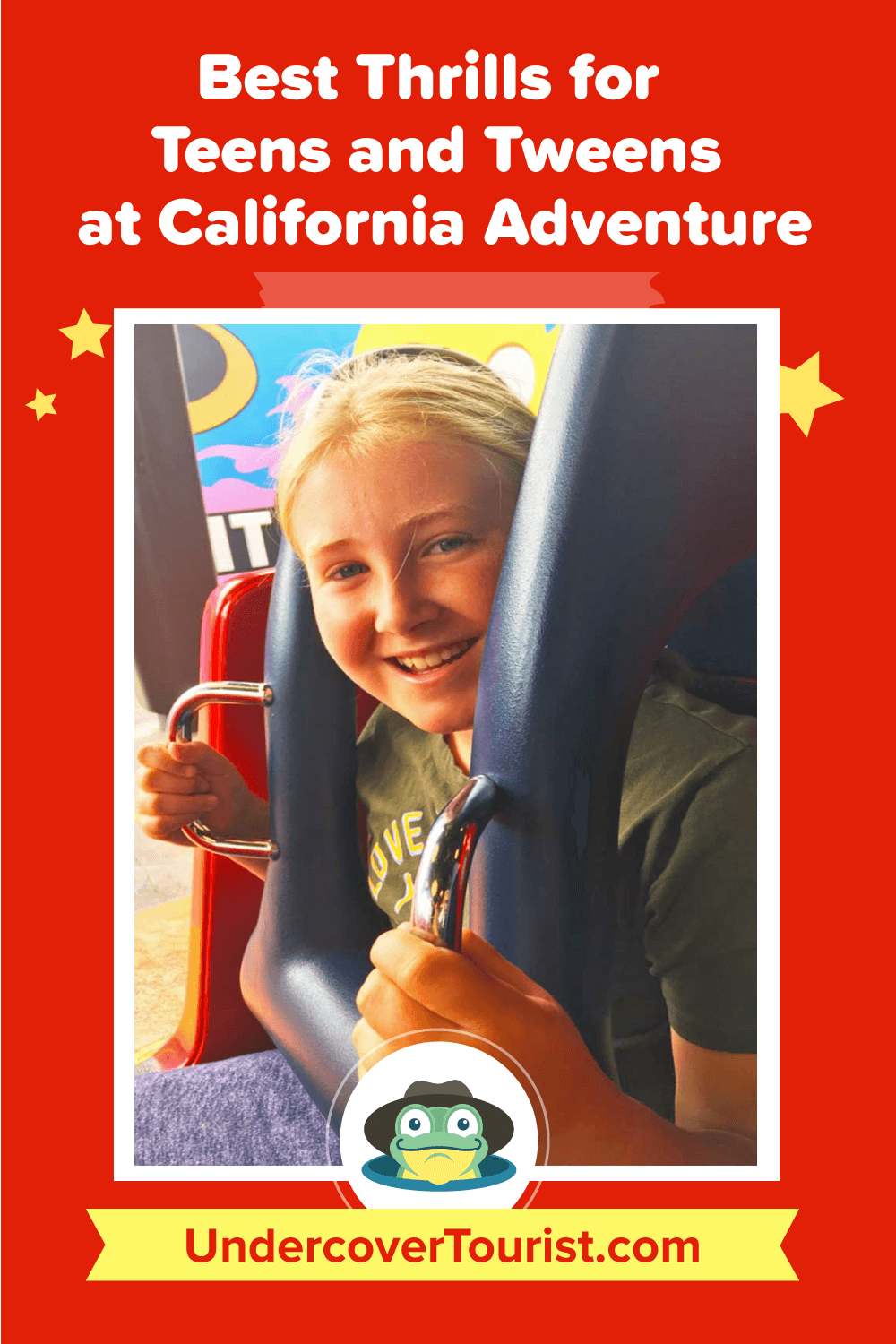 Best Thrills for Teens and Tweens at Disney California Adventure - Pinterest