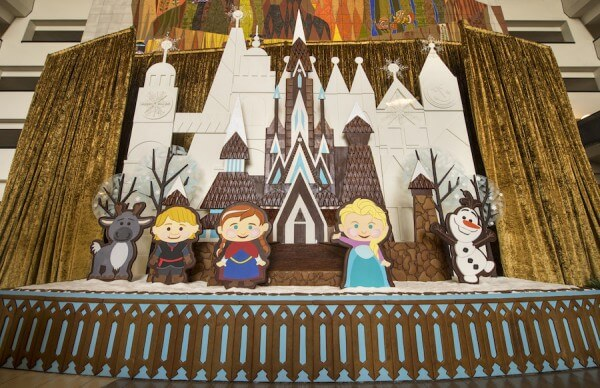 Disney World Holiday Events 2018 - Disney's Contemporary Resort Gingerbread House
