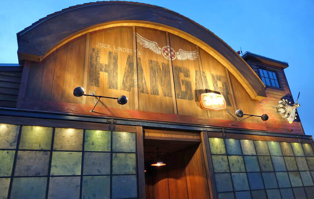 Jock Lindsey's Hangar Bar at Disney Springs