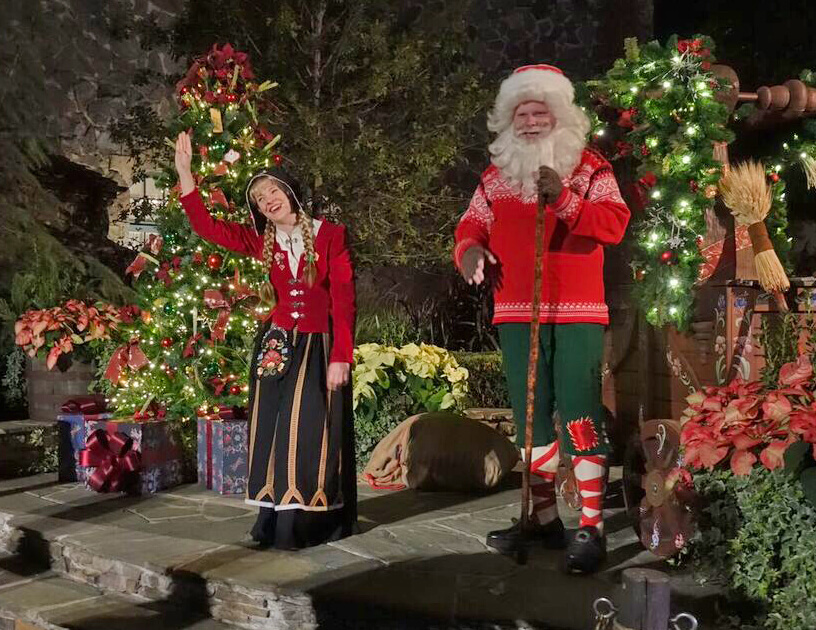 guide to disney world events in 2018 julissien at the norway pavilion - When Does Disney Decorate For Christmas 2017