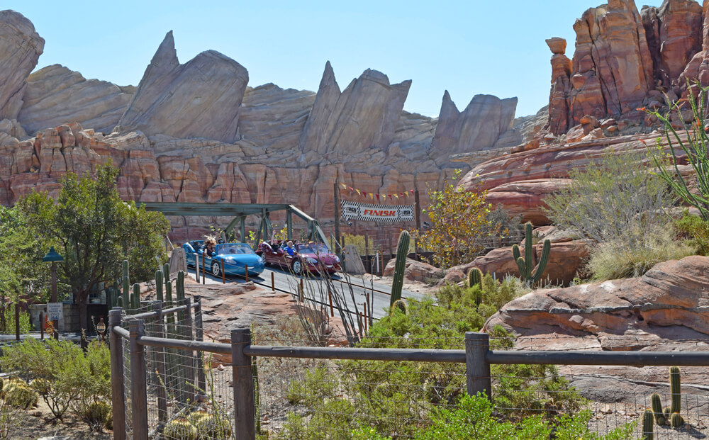 Disney California Adventure's Best Thrills for Teens - Radiator Springs Racers