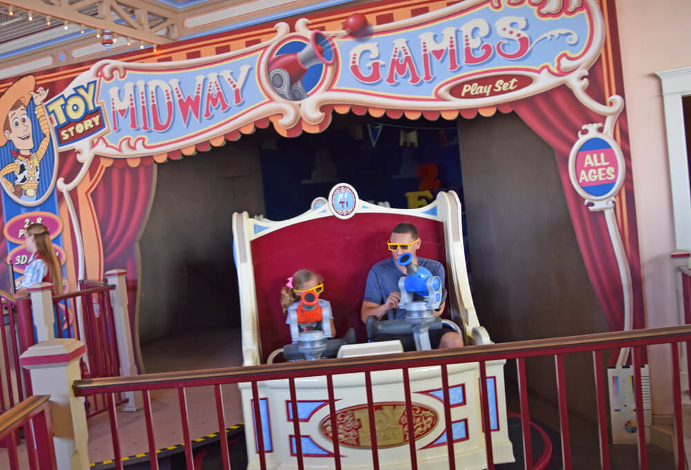 Disney California Adventure's Best Thrills for Teens - Toy Story Midway Mania