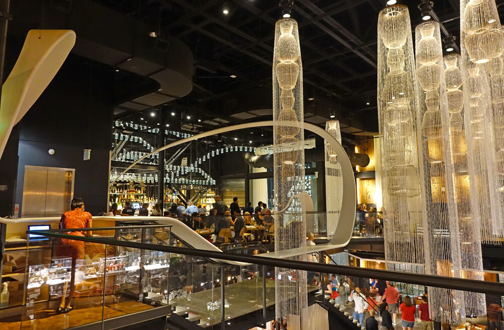 Morimoto Asia at Disney Springs - Upstairs sushi bar
