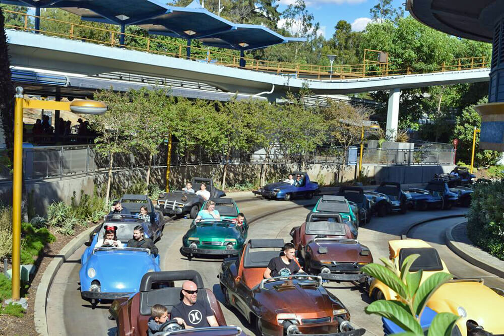 Top Teen Thrills at Disneyland - Autopia