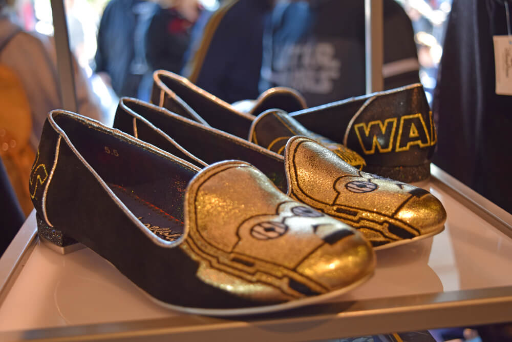 Disneyland Season of the Force - C3PO shoes