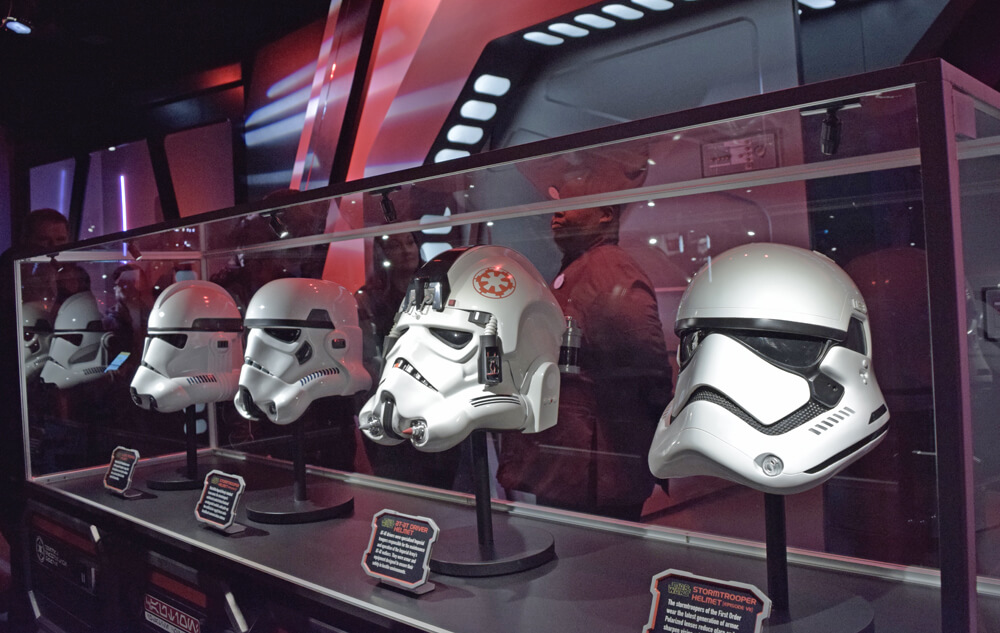 Disneyland Season of the Force - Stormtrooper helmets