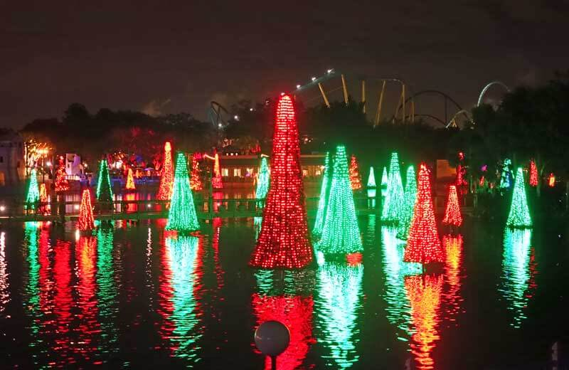 Sea of Trees - SeaWorld's Christmas Celebration 2017