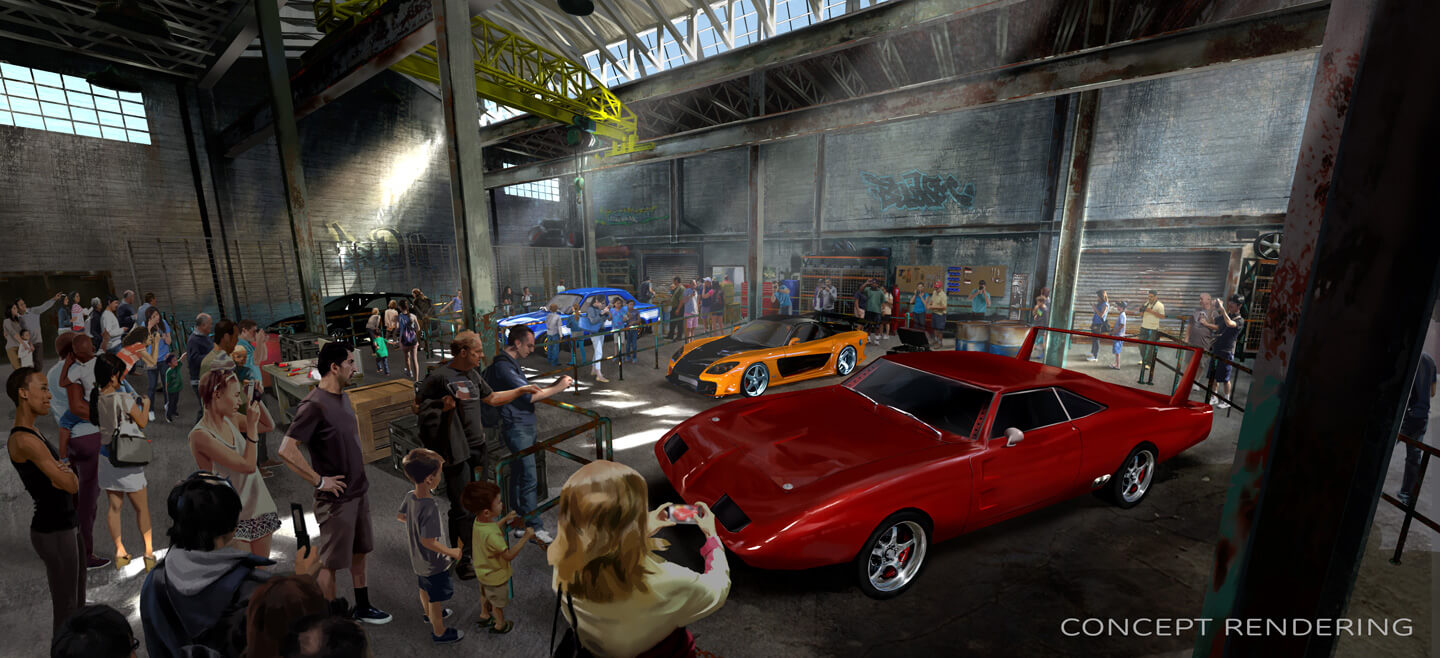 What's New at Disney World in 2017 -Fast & Furious: Supercharged at Universal Studios Florida
