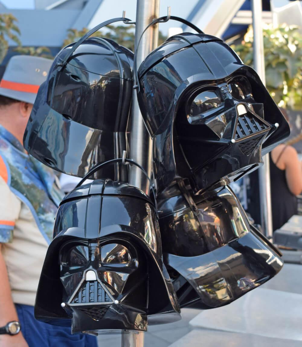 Season of the Force Treats at Disneyland - Darth Vader Popcorn Bucket