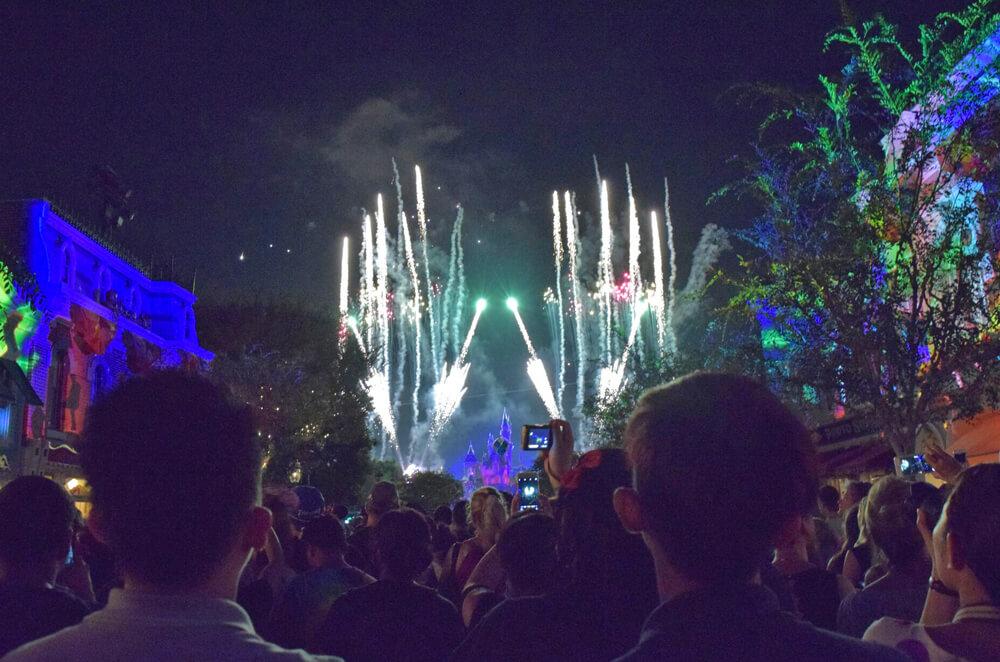 New Year's Eve at Disneyland - DIsneyland Forever