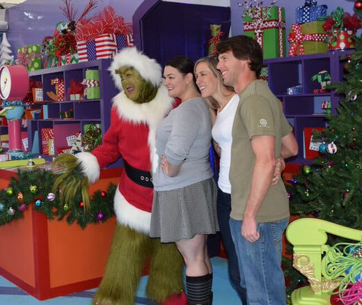 Universal Studios Hollywood Characters - Grinch