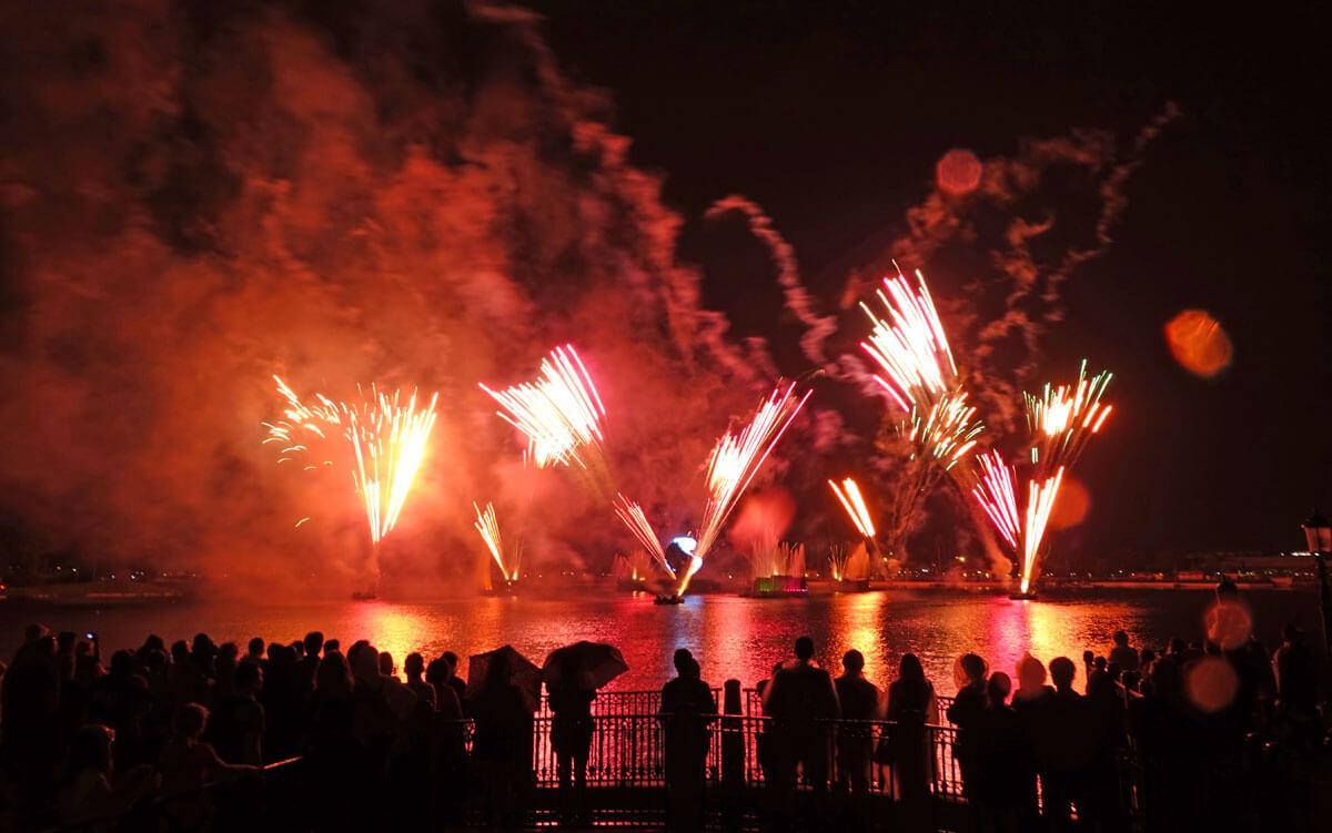 Disney Theme Park Ticket with Park Hopper Option - Disney Park Hopper Ticket - IllumiNations at Epcot
