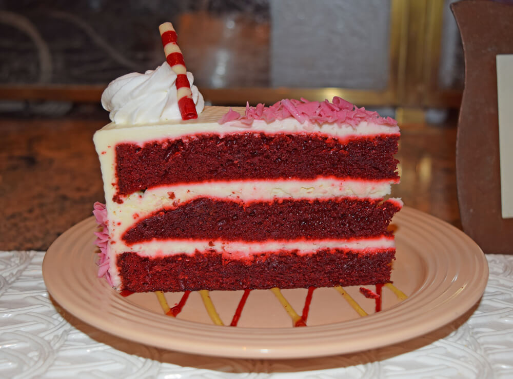 Disneyland Holiday Treats - Red Velvet Cake