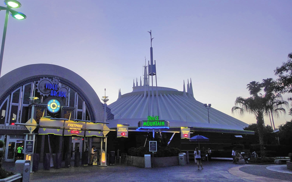 When to Use Extra Magic Hours - Space Mountain