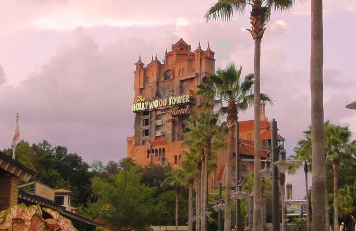 Best nighttime Disney World attractions - Tower of Terror
