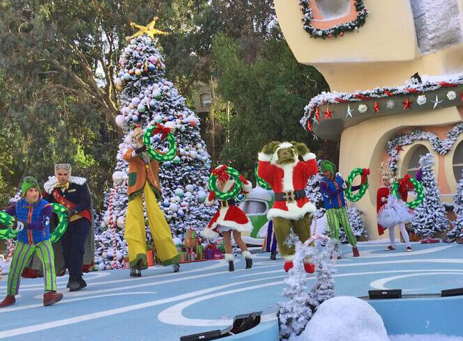 Holidays at Universal Studios Hollywood - Grinchmas 2017 at Universal Studios Hollywood