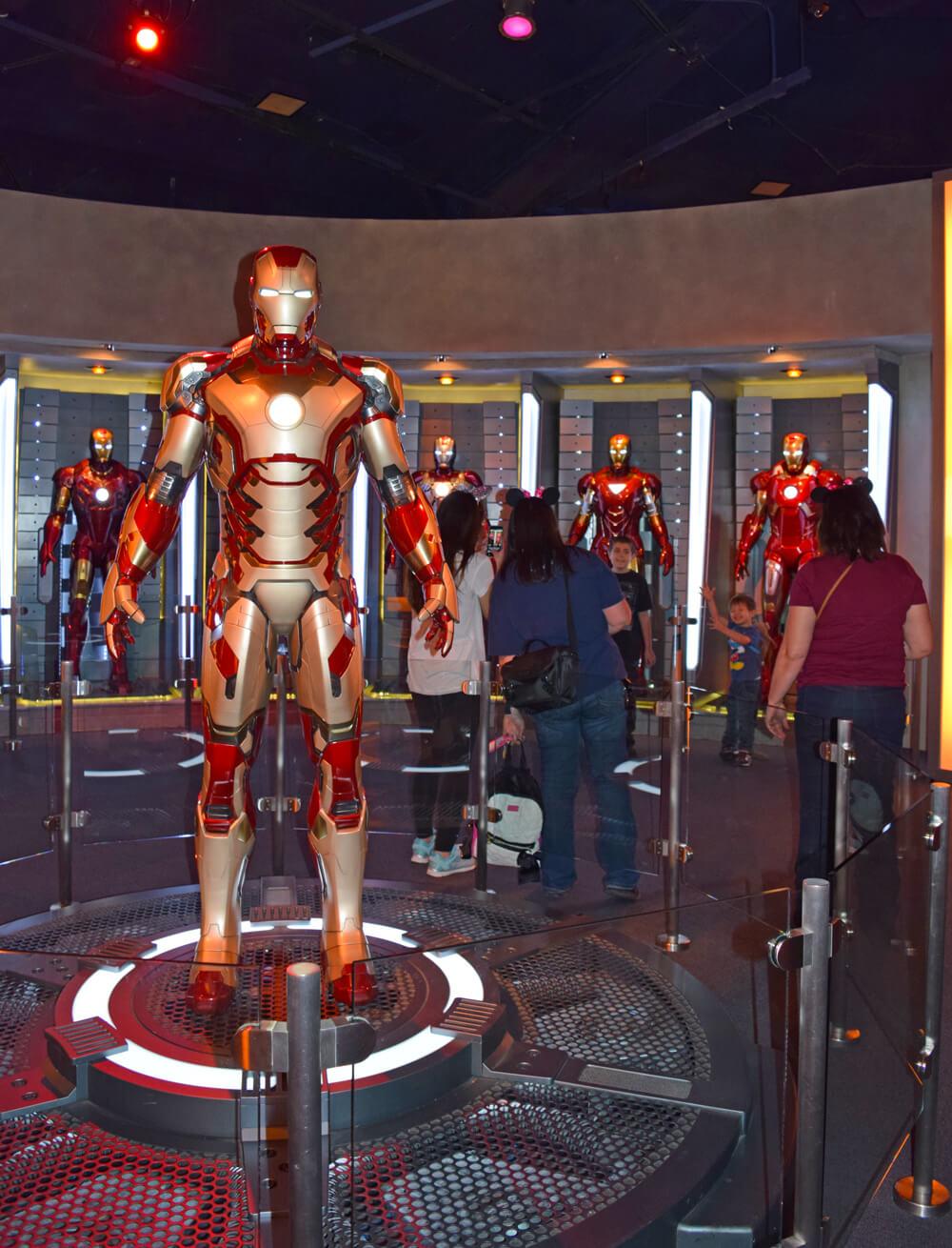 Disneyland's Super Hero HQ - Iron Man Suit