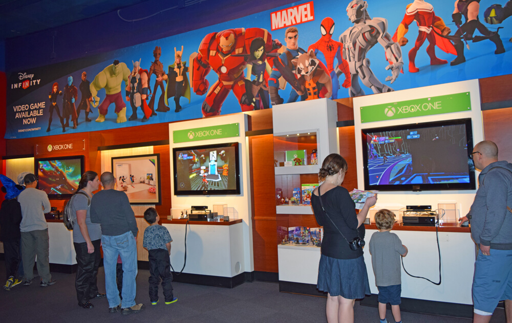 Disneyland's Super Hero HQ