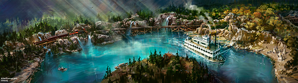 Disneyland Provides Peek at New Rivers of America Waterfront