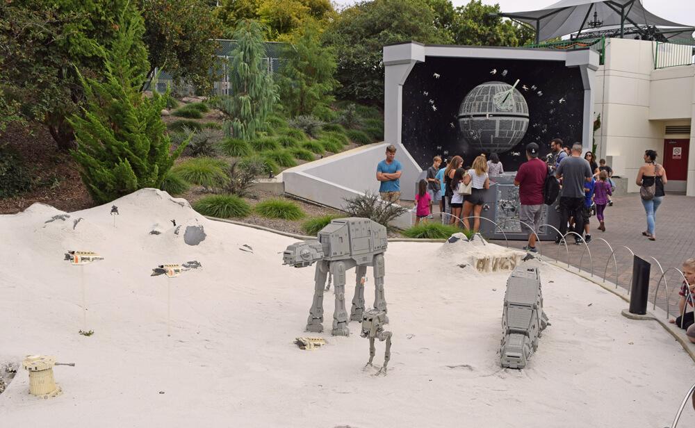 Perfect Day at LEGOLAND California - Star Wars Miniland