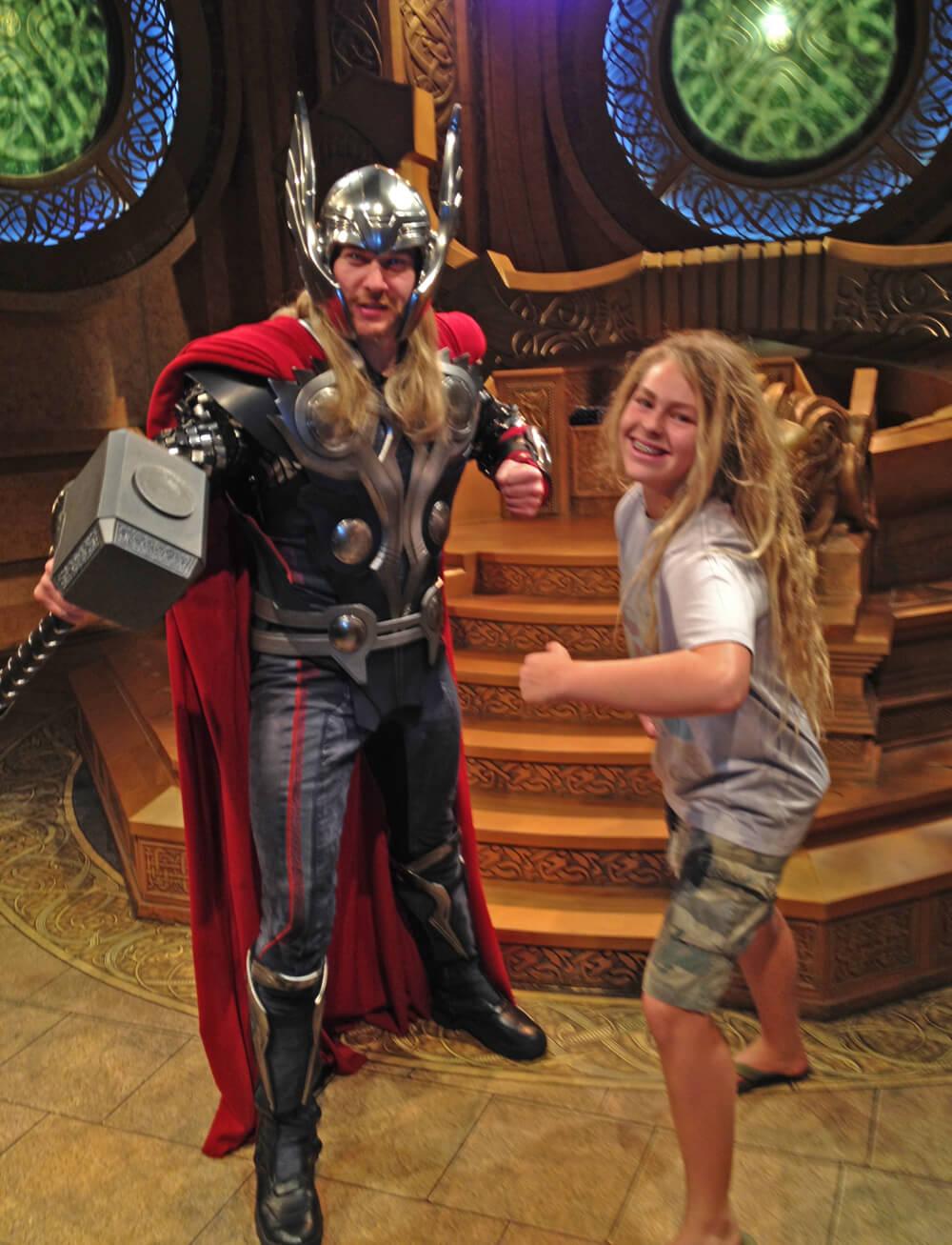 Disneyland's Super Hero HQ - Thor