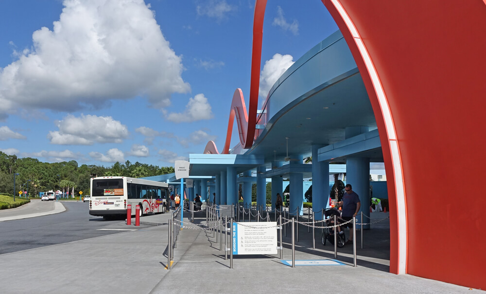 Bus Transportation - What Stay at a Disney World Hotel
