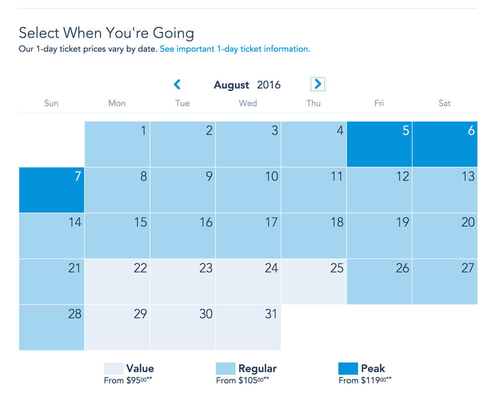 Disneyland 2016 Schedule | Calendar Template 2016