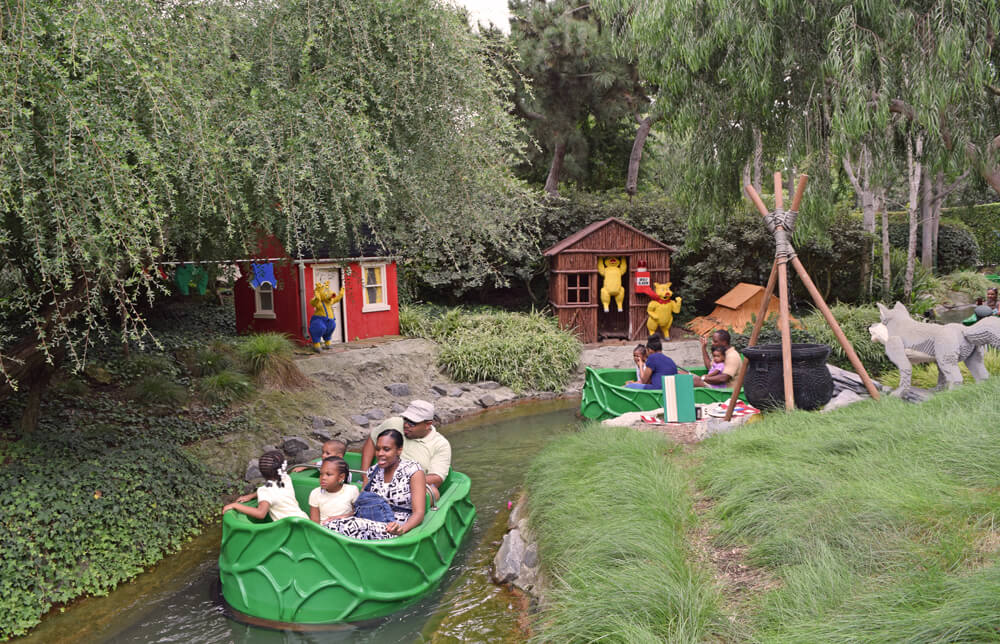 Perfect Day at LEGOLAND California - Fairy Tale Brook