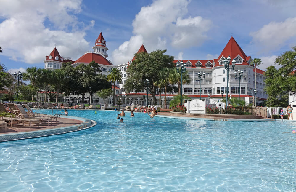 Disney S Grand Floridian Pool What Stay At A World Hotel