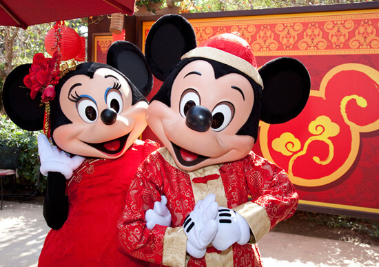 Lunar New Year - Mickey and Minnie